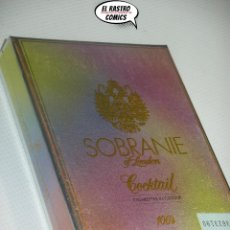 Paquetes de tabaco: SOBRANIE OF LONDON, COCKTAIL, CAJA CON 9 CIGARRILLOS, A4. Lote 195524506