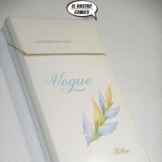 Paquetes de tabaco: VOGUE, CAJA CON 11 CIGARRILLOS., A4. Lote 195524881