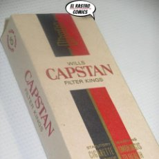 Paquetes de tabaco: WILLS CAPSTAN FILTER KINGS, CAJA CON 6 CIGARRILLOS, A4. Lote 195524915