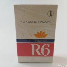 Paquetes de tabaco: PAQUETE DE TABACO R6 REEMTSMA CIGARRILLOS PRECINTADO LLENO.. Lote 195540273