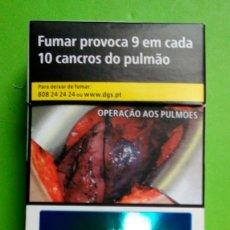 Paquetes de tabaco: PAQUETE DE TABACO MARLBORO. VACIO. DE PORTUGAL. Lote 196002766