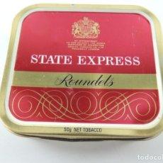 Maços de tabaco: ANTIGUO PAQUETE CAJETILLA DE TABACO ... STATE EXPRESS ROUNDELS. Lote 196010262