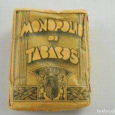 Maços de tabaco: PICADURA POPULAR LABOR DE GUERRA EJERCITO REPUBLICANO DE MONOPOLIO TABACOS. Lote 196010885