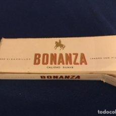 Paquetes de tabaco: ANTIGUO PAQUETE DE TABACO BONANZA SIN ABRIR. Lote 196449252