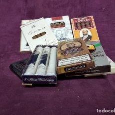 Maços de tabaco: LOTE DE UNOS 9 PAQUETES DE TABACOS, VARIAS MARCAS, LLENAS Y PRECINTADAS. Lote 197409731