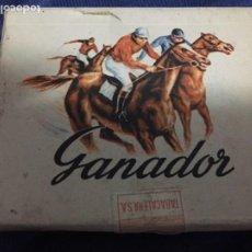 Maços de tabaco: ANTIGUO PAQUETE DE TABACO GANADOR TABACALERA S. A. . Lote 197575270