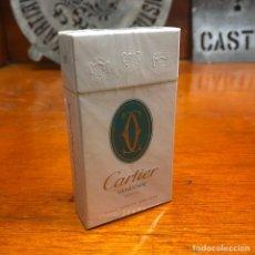 Maços de tabaco: ANTIGUO PAQUETE DE TABACO CARTIER VENDOME MENTHOL, SIN ABRIR. Lote 197623153