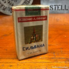 Maços de tabaco: ANTIGUO PAQUETE DE TABACO RUSO, SIN ABRIR.. Lote 197783830