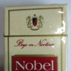 Maços de tabaco: PAQUETE DE CIGARRILLOS NOBEL - ESPAÑA - AÑO 1980'S. Lote 198179306