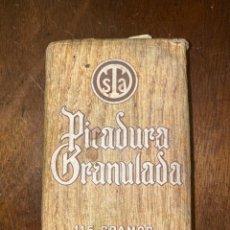Paquetes de tabaco: PICADURA GRANULADA. TABACALERA S.A. ANTIGUO PAQUETE DE TABACO DE LIAR. CONTENIDO: 115 GR. . Lote 198772258