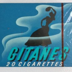 Maços de tabaco: PAQUETE DE CIGARRILLOS GITANES - FRANCIA - AÑO 1970'S. Lote 236878400