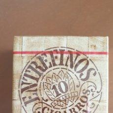 Paquetes de tabaco: PAQUETE PRECINTADO DE 10 CIGARROS ENTREFINOS. Lote 199147171