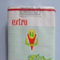 Paquetes de tabaco: PAQUETE , CAJETILLA , TABACO , CIGARRILLOS - 46 EXTRA - AÑOS 70 - SIN ABRIR .. L593. Lote 201304628