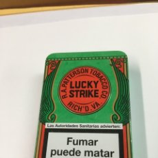 Paquetes de tabaco: LATA TABACO LUCKY STRIKE (H). Lote 221601946