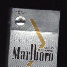 Paquetes de tabaco: CAJETILLA VACÍA DE MARLBORO GOLD BEYOND (MARRUECOS). Lote 202941458