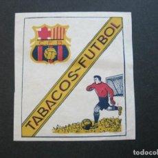 Paquetes de tabaco: FC BARCELONA-TABACOS FUTBOL-ETIQUETA ANTIGUA-VER FOTOS-(69.540). Lote 203395521