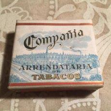 Paquetes de tabaco: ANTIGUO PAQUETE DE TABACO SIN ESTRENAR CIGARRILLOS ESPECIALES COMPAÑIA ARRENDATARIO DE TABACOS 50. Lote 204731227