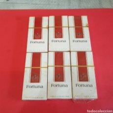 Paquetes de tabaco: LOTE DE 6 PAQUETES DE TABACO FORTUNA. Lote 205137621