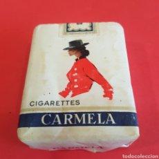 Paquetes de tabaco: PAQUETE DE TABACO CARMELA. Lote 205138018