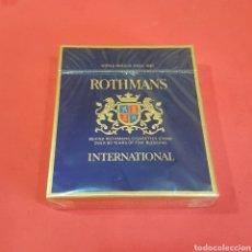 Paquetes de tabaco: PAQUETE DE TABACO ROTHMANS. Lote 205138491