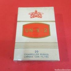 Paquetes de tabaco: PAQUETE DE TABACO UN-X-2. Lote 205139601