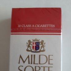 Paquetes de tabaco: PAQUETE DE TABACO ESLOVACO MARCA MILDE SORTE. Lote 205148273