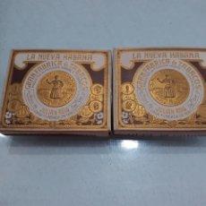 Paquetes de tabaco: PRECIOSO LOTE DE 2CAJETILLAS DIFERENTES DE TABACO JULIAN REIG. Lote 205246052
