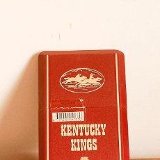 Paquetes de tabaco: KENTUCKY KINGS - AÑOS 70. Lote 205467192