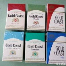 Paquetes de tabaco: 6 ANTIGUOS PAQUETES CON TABACO, SIN ABRIR. COLECCION.. Lote 205592690