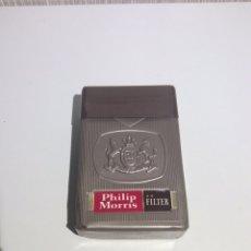 Paquetes de tabaco: PAQUETE TABACO PHILIP MORRIS ABIERTO EL PAQUETE ES DE PLÁSTICO MIRAR FOTOS. Lote 206179773