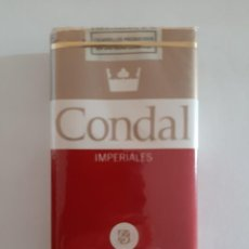 Paquetes de tabaco: PAQUETE DE TABACO ESPAÑOL MARCA CONDAL. Lote 206241996