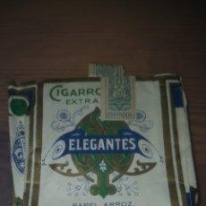 Paquetes de tabaco: PAQUETE DE TABACO ELEGANTES. Lote 206554738