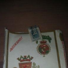 Paquetes de tabaco: PAQUETE DE TABACO DELICADOS. Lote 206555367