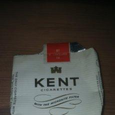 Paquetes de tabaco: PAQUETE DE TABACO KENT. Lote 206555418