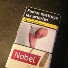 Paquetes de tabaco: CAJETILLA NOBEL STYLE (VACIA). Lote 207014921