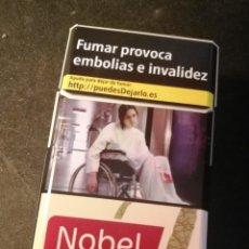 Paquetes de tabaco: CAJETILLA NOBEL STYLE (VACIA). Lote 207014990