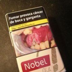 Paquetes de tabaco: CAJETILLA NOBEL STYLE (VACIA). Lote 207015031