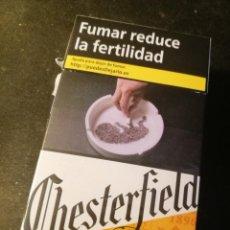 Paquetes de tabaco: CAJETILLA CHESTERFIELD ORIGINAL (VACIA). Lote 207015190