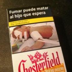 Paquetes de tabaco: CAJETILLA CHESTERFIELD (VACIA). Lote 207015268