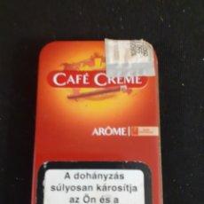 Paquetes de tabaco: PEQUEÑA CAJETILLA METALICA VACIA DEL TABACO HOLANDES CAFE CREME. Lote 208563673