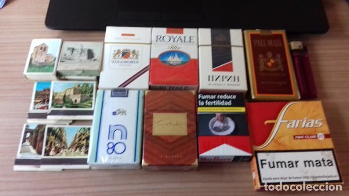Paquetes de tabaco: Lote interesante de tabaco - Foto 2 - 209208031