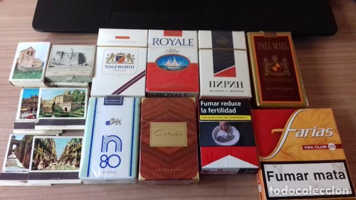 Paquetes de tabaco: Lote interesante de tabaco - Foto 4 - 209208031