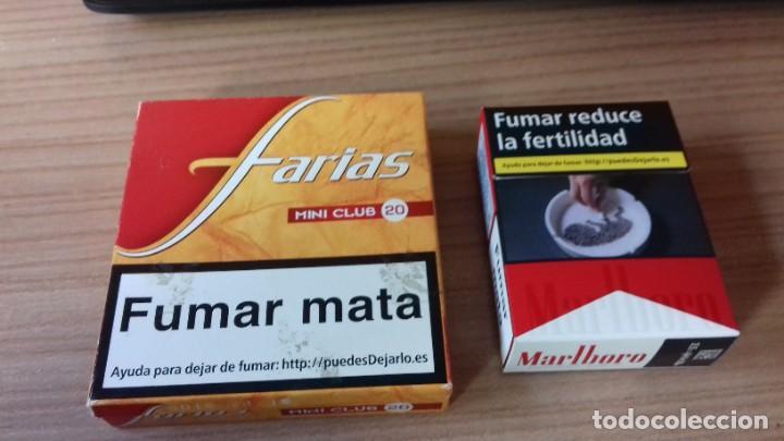 Paquetes de tabaco: Lote interesante de tabaco - Foto 10 - 209208031