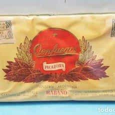 Maços de tabaco: RESERVADO PAQUETE DE PICADURA SIN DESPRECINTAR CIENFUEGOS CLASE A HABANO 100 GR. Lote 210038462