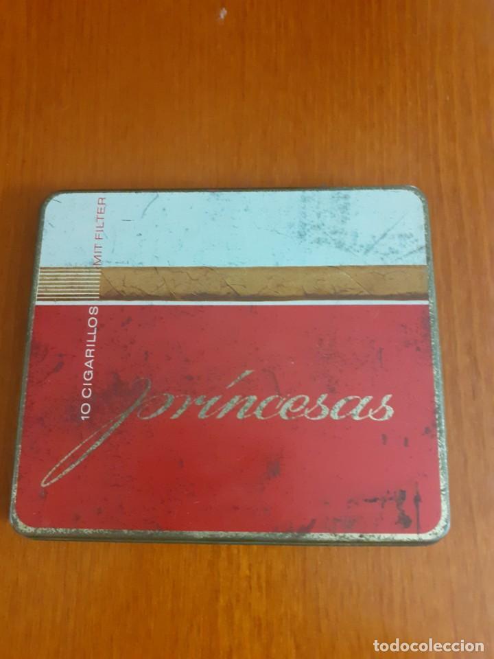 ANTIGUA CAJETILLA DE CIGARRILLOS PRINCESA (Coleccionismo - Objetos para Fumar - Paquetes de tabaco)