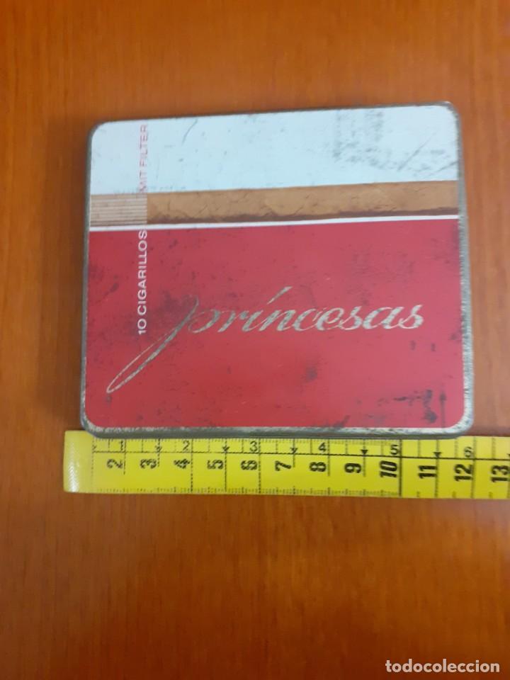 Paquetes de tabaco: antigua cajetilla de cigarrillos Princesa - Foto 3 - 211593530