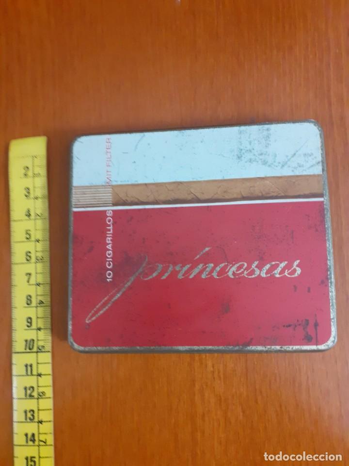 Paquetes de tabaco: antigua cajetilla de cigarrillos Princesa - Foto 4 - 211593530
