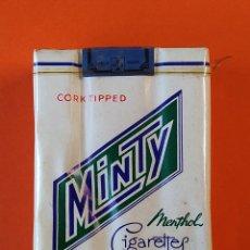 Paquetes de tabaco: PAQUETE, TABACO, CIGARRILLOS - MINTY MENTOLADO - SIN ABRIR ..L1656. Lote 212685901