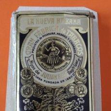 Paquetes de tabaco: PAQUETE, TABACO, CIGARRILLOS - LA NUEVA HABANA - SIN ABRIR - PEGADO EN UN CARTON DURO ... L1672. Lote 212962680