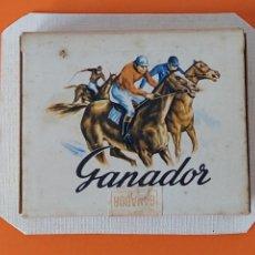 Paquetes de tabaco: PAQUETE, TABACO, CIGARRILLOS - GANADOR - SIN ABRIR - PEGADO EN UN CARTON DURO ... L1675. Lote 212963391